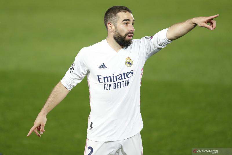 Dani Carvajal perpanjang kontrak di Real Madrid hingga 2025