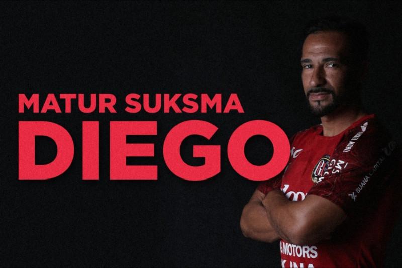 Diego Assis resmi berpisah dari Bali United