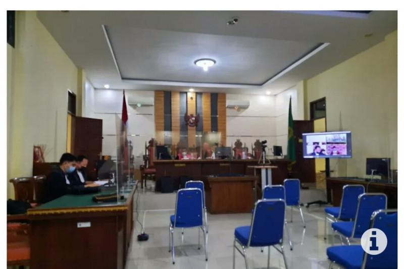 Pejabat Lampung Tengah jalani sidang kasus korupsi pajak air tanah