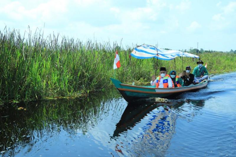 Bupati HSU resmikan Swargaloka, dorong tumbuhnya potensi wisata desa