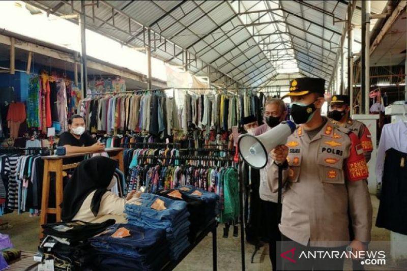 Polres Enrekang rutin operasi yustisi di Pasar Sentral