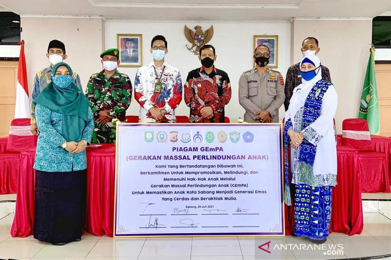 Kota Sabang sabet enam penghargaan kota layak anak di Aceh