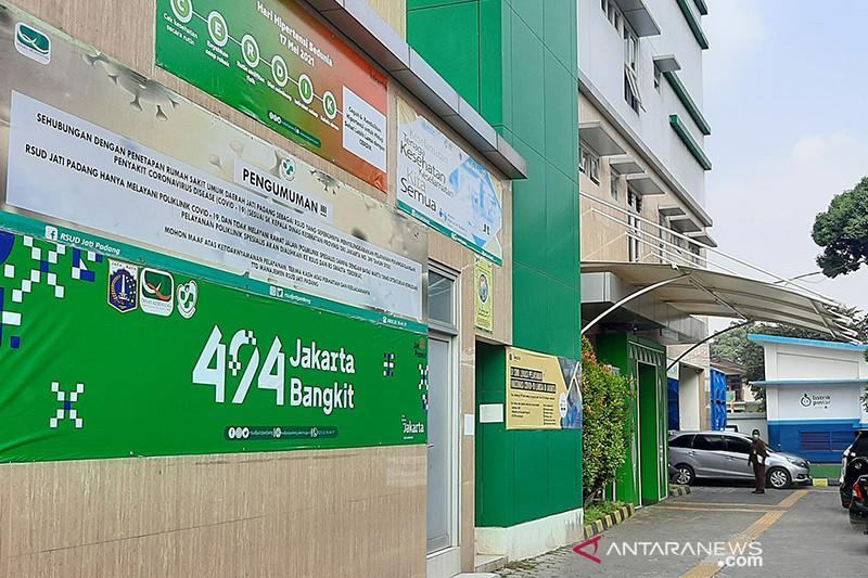 BOR RSUD Jati Padang turun 50 persen saat perpanjangan PPKM