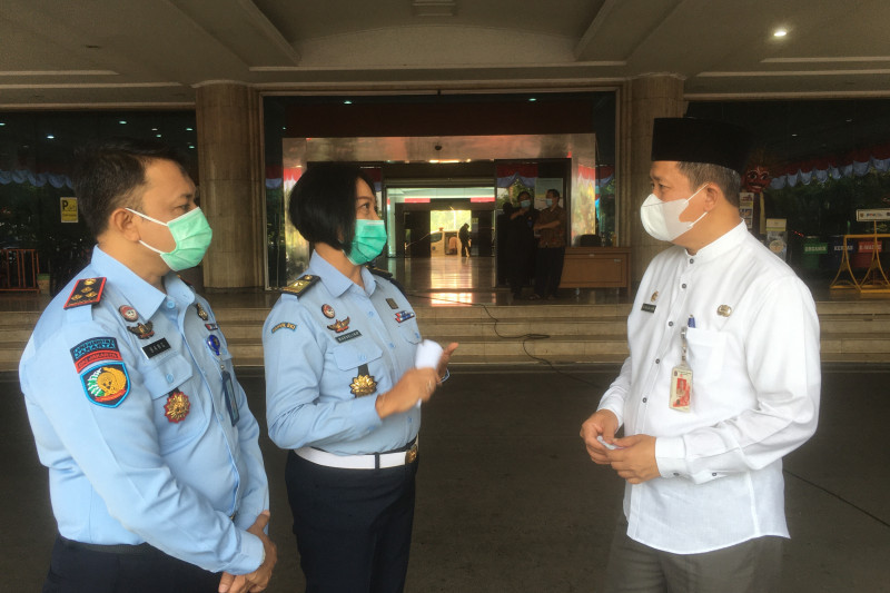 Nakes Kanwil Kumham DKI diminta perkuat vaksinator Jakarta Utara