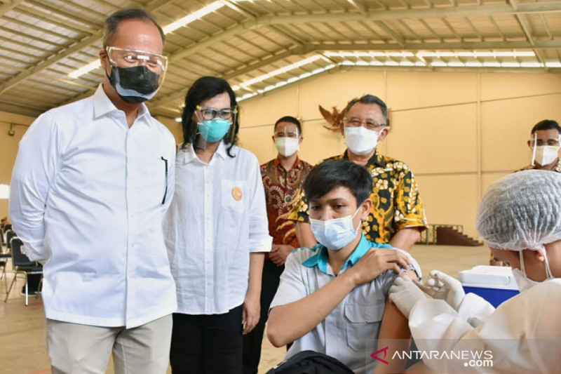 Kemenperin pacu percepatan vaksinasi bagi pekerja industri