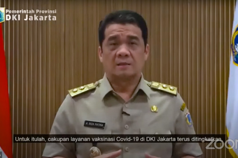 Wagub DKI apresiasi PT LRT Jakarta kampanyekan vaksinasi COVID-19