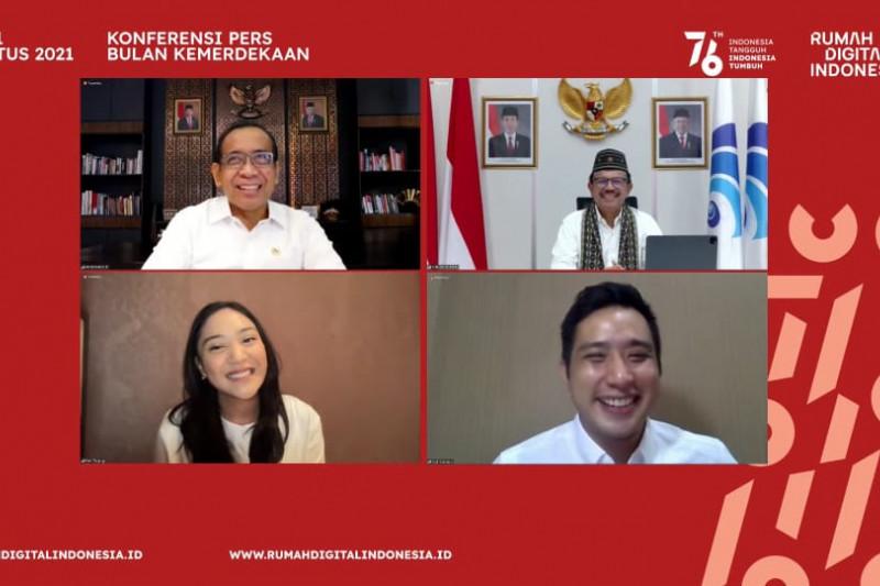 Rayakan HUT Kemerdekaan RI ke-76 di Rumah Digital Indonesia