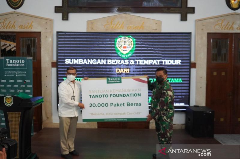 Tanoto-KSP donasikan 40 ribu paket beras untuk warga Jawa Barat