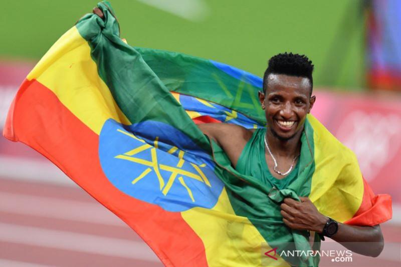Pelari Ethiopia Barega menangi 10.000m putra Olimpiade Tokyo