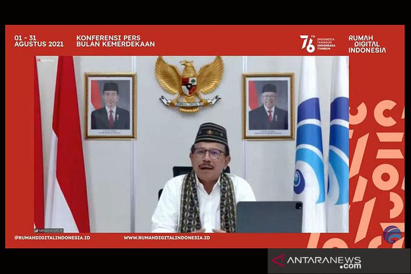 Menkominfo: Rumah Digital Indonesia wujud kecepatan adaptasi teknologi