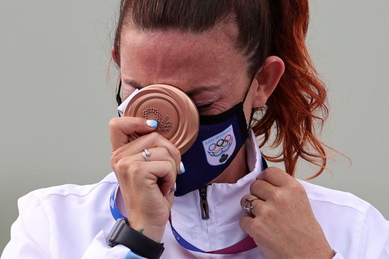 San Marino jadi negara paling kecil yang meraih medali Olimpiade