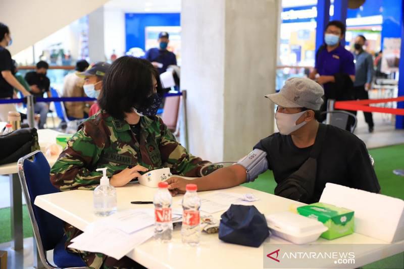 Dinkes Tangerang suntikkan 133.186 vaksin COVID-19 selama sepekan