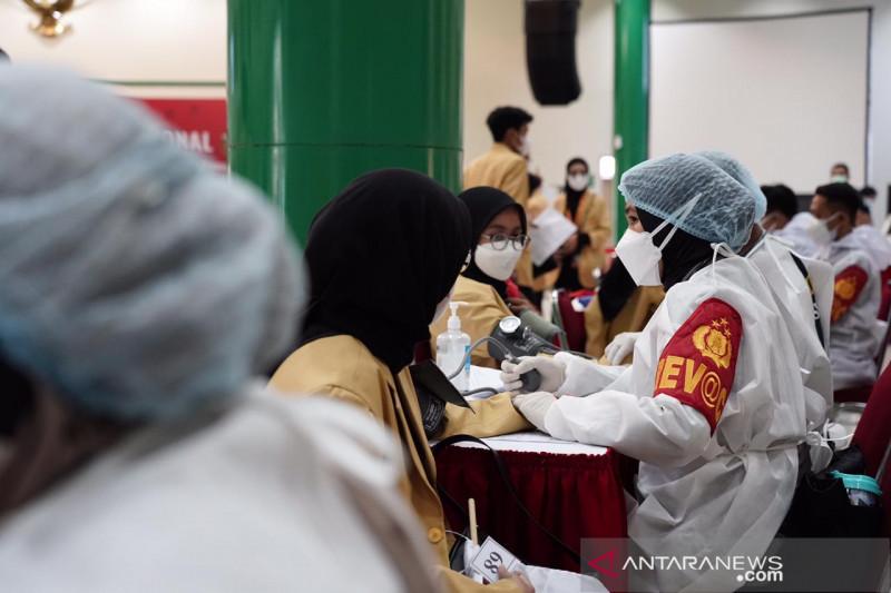 BEM Nusantara gelar vaksinasi mahasiswa di Universitas Bhayangkara