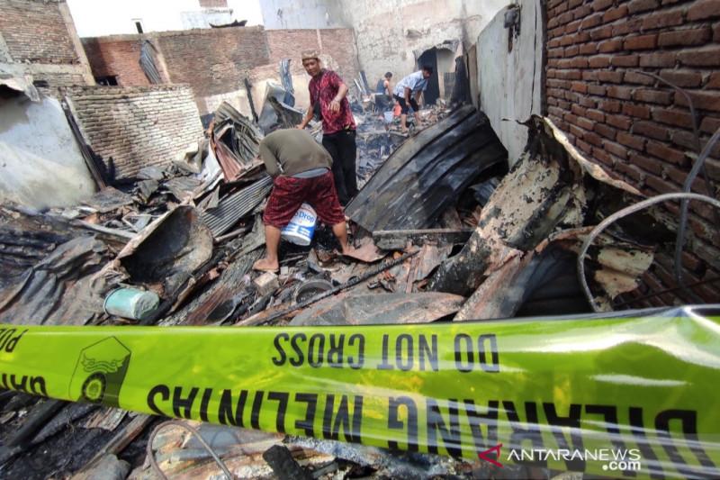 Tujuh rumah di Makassar hangus terbakar
