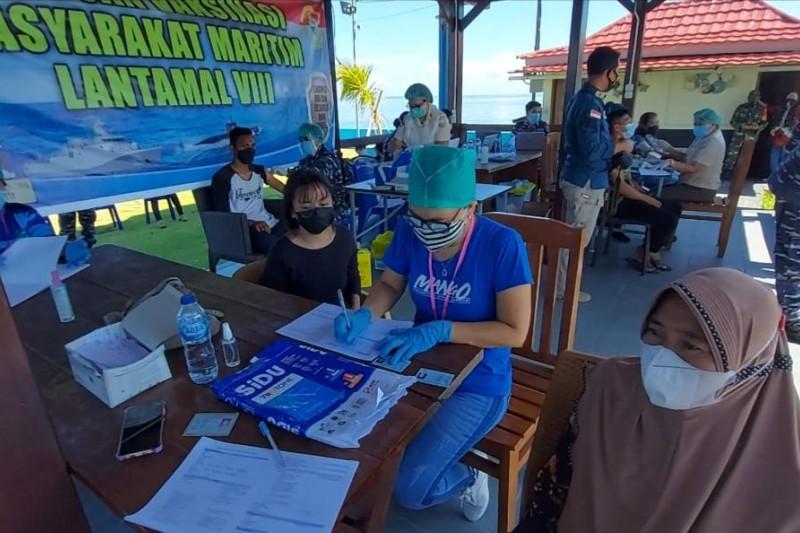 TNI AL sasar desa pesisir belum tersentuh vaksinasi