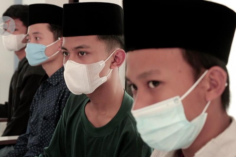 Kodim Temanggung jemput bola vaksinasi 150 santri