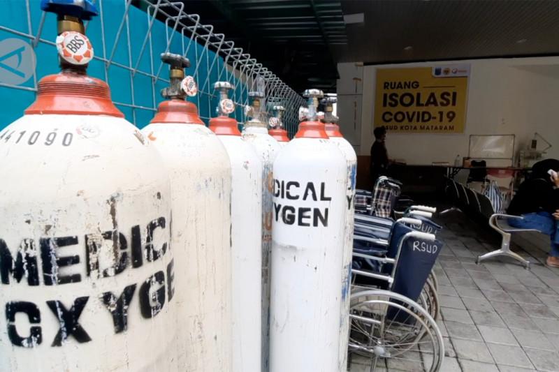 Stok oksigen menipis, NTB minta faskes selektif