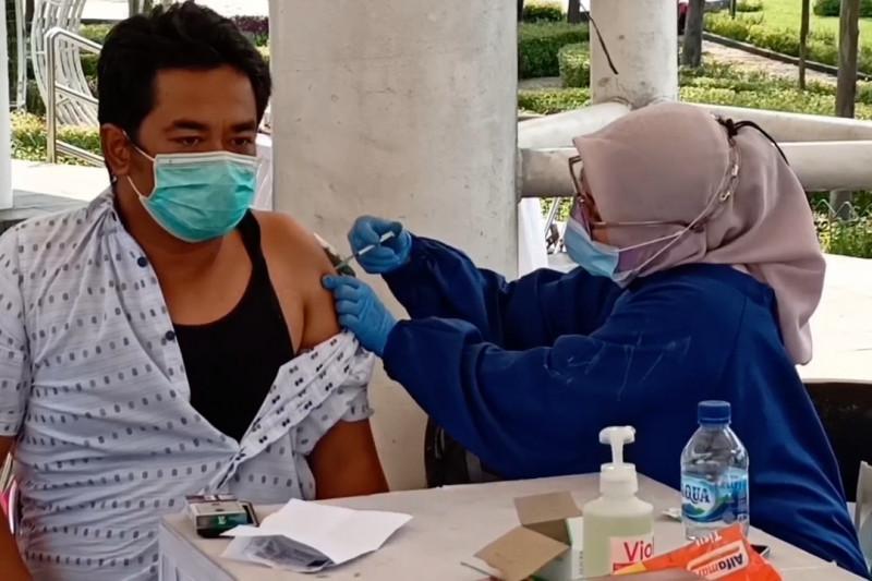 Capaian vaksinasi di Kota Cilegon baru capai 18 persen