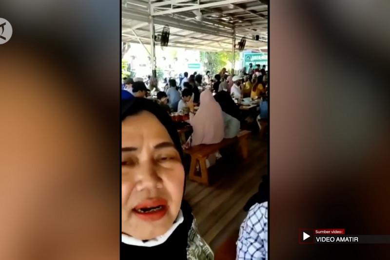Unggah video keramaian di restoran, seorang ibu wajib lapor ke Polda Sumbar