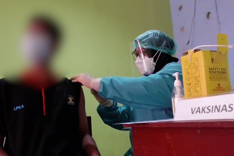 Peringati HAN, 40 Andikpas Batam disuntik vaksin COVID-19