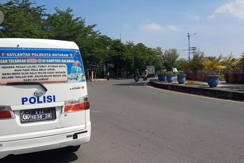 PPKM Darurat di Kota Mataram berlaku setelah 2 hari sosialisasi