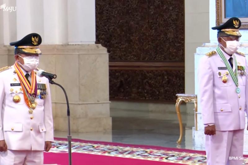 Presiden lantik Gubernur dan Wagub Jambi 2021-2024