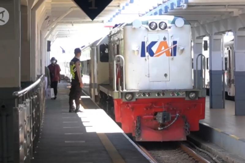 PT KAI DAOP 2 Bandung alami penurunan penumpang 90%