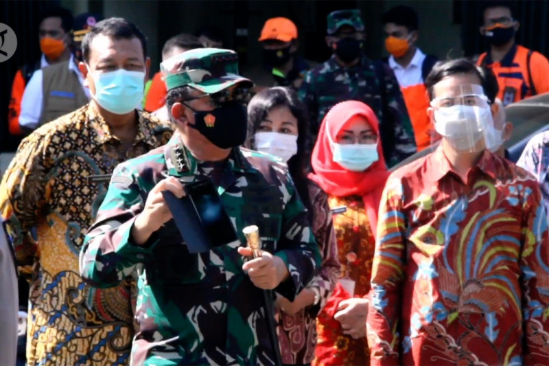 Panglima TNI kunjungi Asrama Haji Donohudan Jawa Tengah