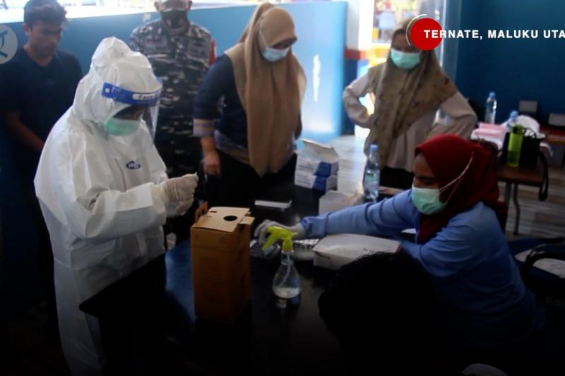 Razia masker di Pelabuhan Ternate & DPRD Ambon minta pengetatan