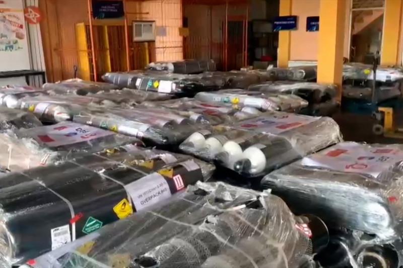 Solo siap distribusikan 240 tabung oksigen dari Singapura