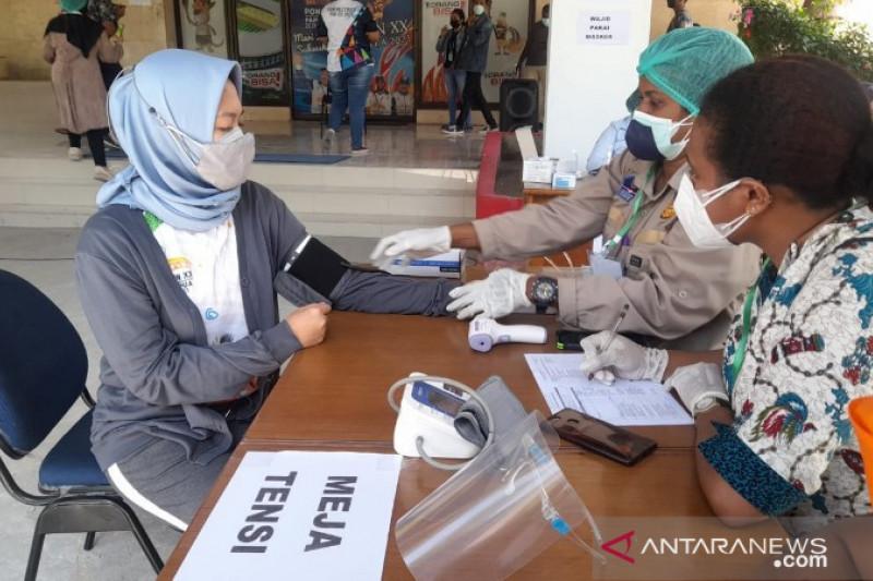 KONI Papua sebut vaksinasi atlet tahap pertama telah selesai dilakukan
