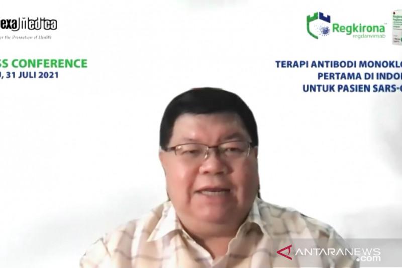 Regdanvimab jadi terapi antibody monoklonal pertama di Indonesia