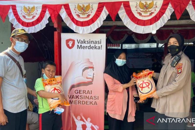 Vaksinasi Merdeka sasar ratusan warga Muara Angke