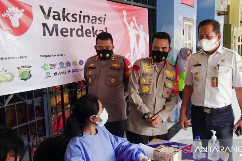Vaksinasi Merdeka sasar 118 permukiman di Jakarta Utara