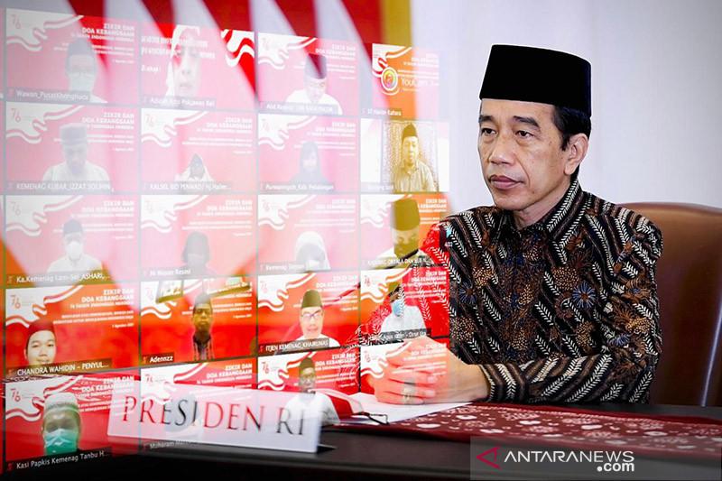 Presiden Jokowi: Penanganan COVID-19 bertumpu pada tiga pilar utama