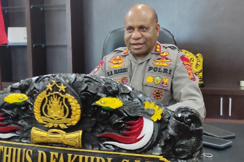 Kapolda Papua benarkan Polsek Nimboran dibakar sekelompok orang