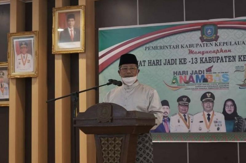 Bupati Kabupaten Anambas positif COVID-19