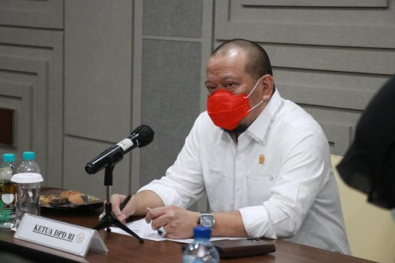 Ketua DPD minta Jatim tingkatkan rasio pelacakan kasus COVID-19