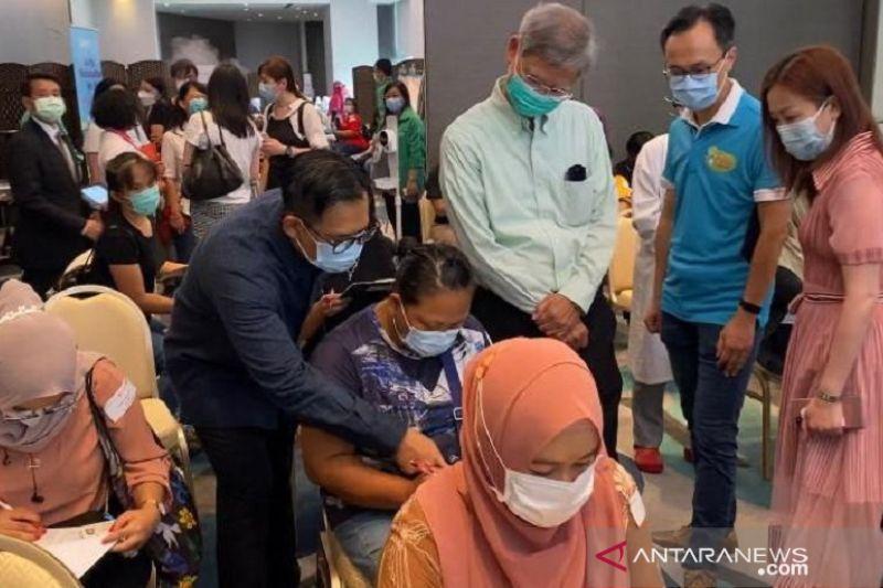 266 PMI di Hong Kong terima vaksin COVID