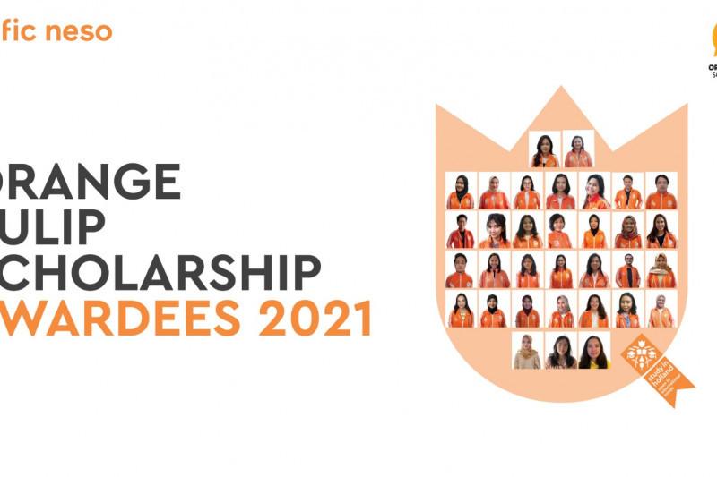 Sebanyak 37 pendaftar raih beasiswa Orange Tulip Scholarship 2021