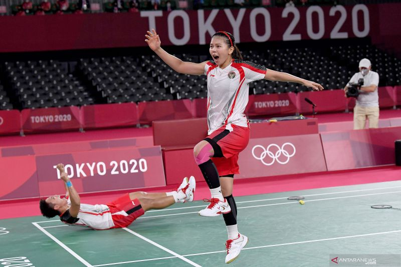 Greysia punya kesan tersendiri dengan Erick Thohir di Olimpiade