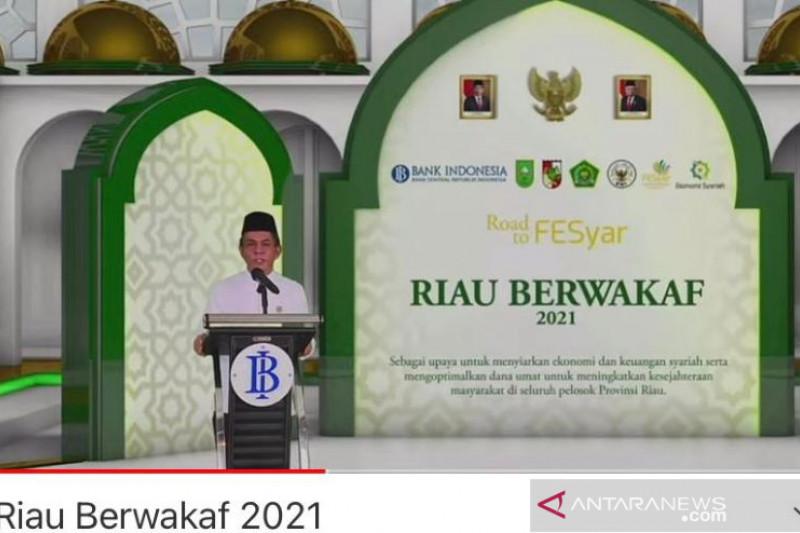 BI: Riau berhasil kumpulkan dana wakaf hingga Rp614,9 miliar thumbnail