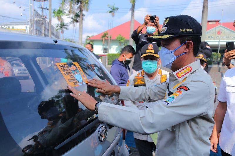 Kota Palembang di Sumsel perpanjang PPKM Level 4