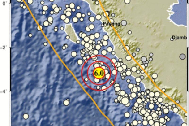 Gempa di barat daya Mukomuko dipicu aktivitas Lempeng Indo-Australia
