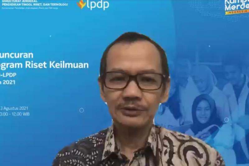 Kemendikbudristek - LPDP luncurkan program riset keilmuan