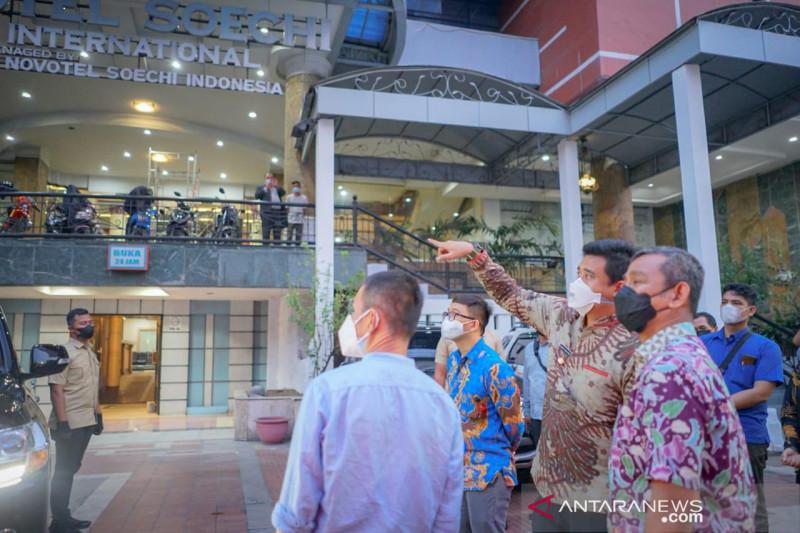 Medan sediakan 247 kamar isolasi gratis di bekas hotel bintang 4