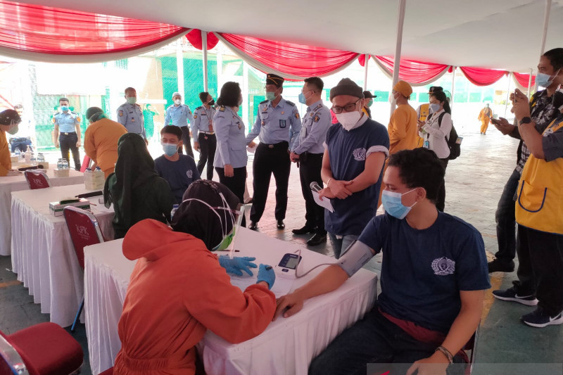 Ikhtiar menghadapi pandemi dari balik jeruji