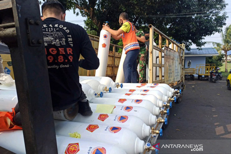 BNPB kirim bantuan masker dan oksigen ke Papua Barat