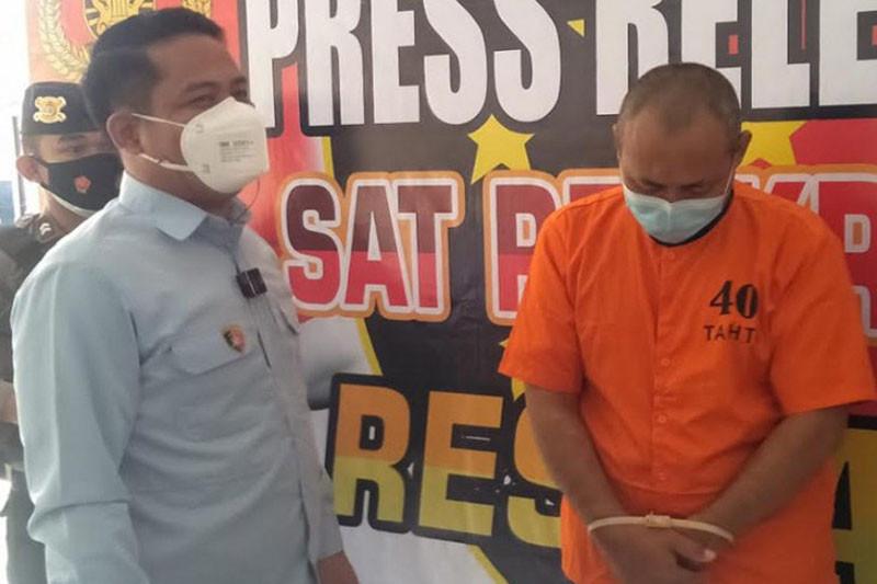 Oknum Kepsek di Kapuas ditangkap polisi diduga cabuli empat murid