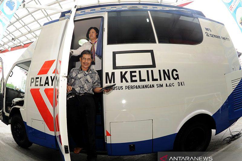 Senin, SIM Keliling tersedia di lima lokasi Jakarta